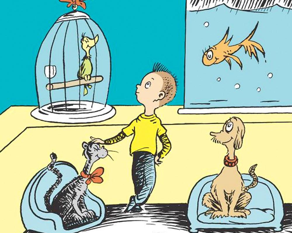 Dr. Seuss What Pet Should I Get