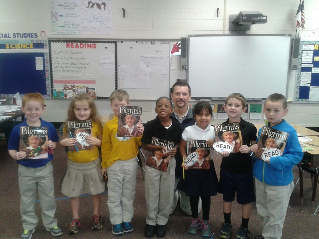 First Book at Stokes Elementary