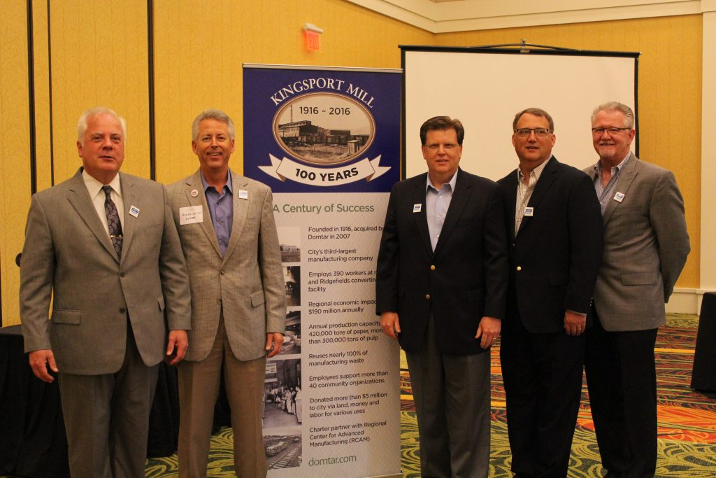 Kingsport Mill 100 luncheon