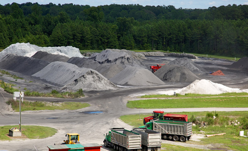 Plymouth K-Lime facility in Eastern North Carolina