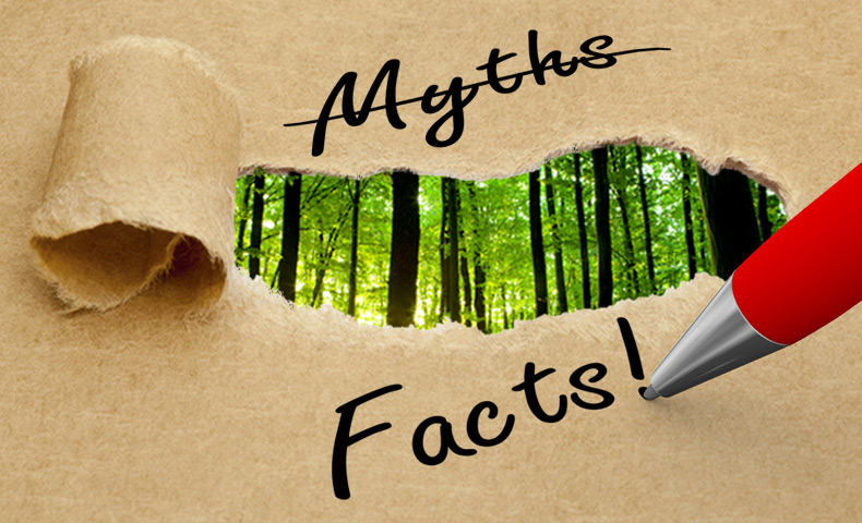 Three of the top Paper Myths Paper Myth