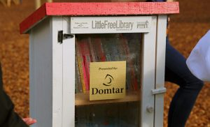Domtar Sponsors Little Free Library