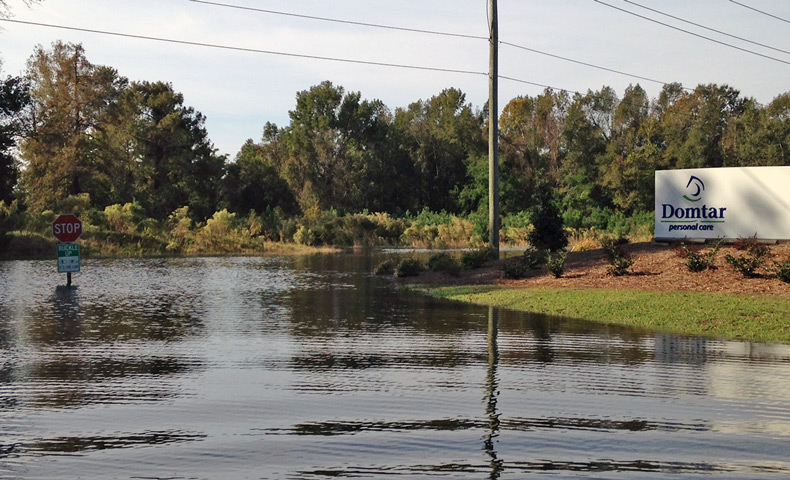 Domtar donations provide hurricane relief in North Carolina and South Carolina.