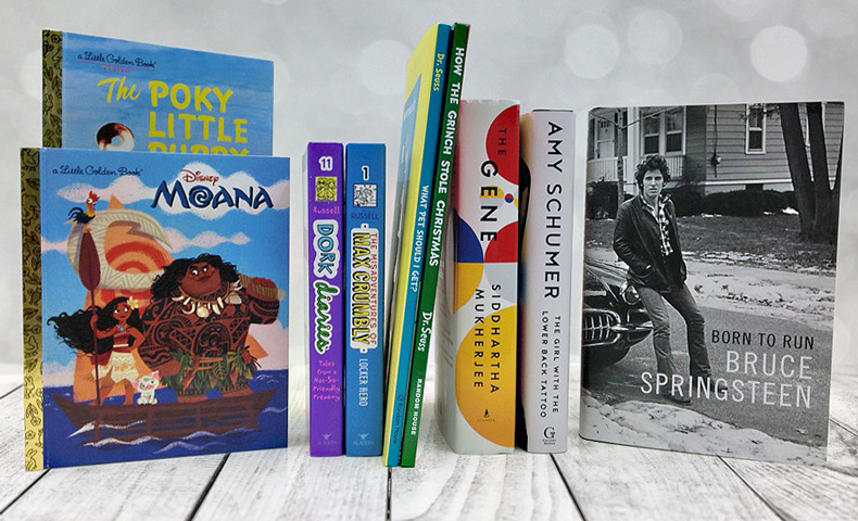 encourage holiday reading with these kids books