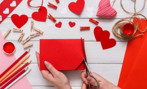 Valentine's Day and Paper