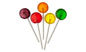 paper sticks for lollipops