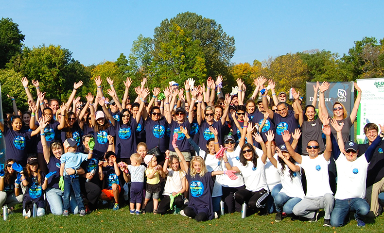 Domtar and Student Conservation Association Help Restore Montreal Urban Forest