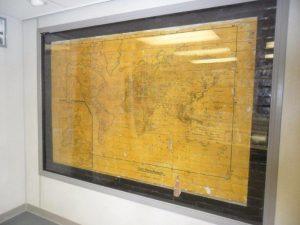 Espanola Mill World War II map