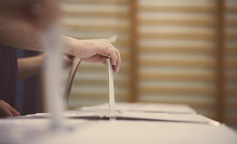 paper ballot format