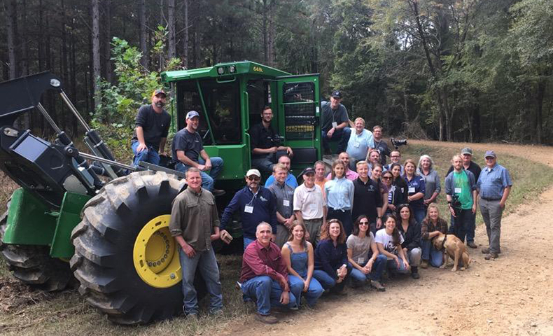 sustainable forestry tour