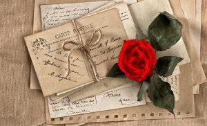 handwritten love letter for Valentine's Day