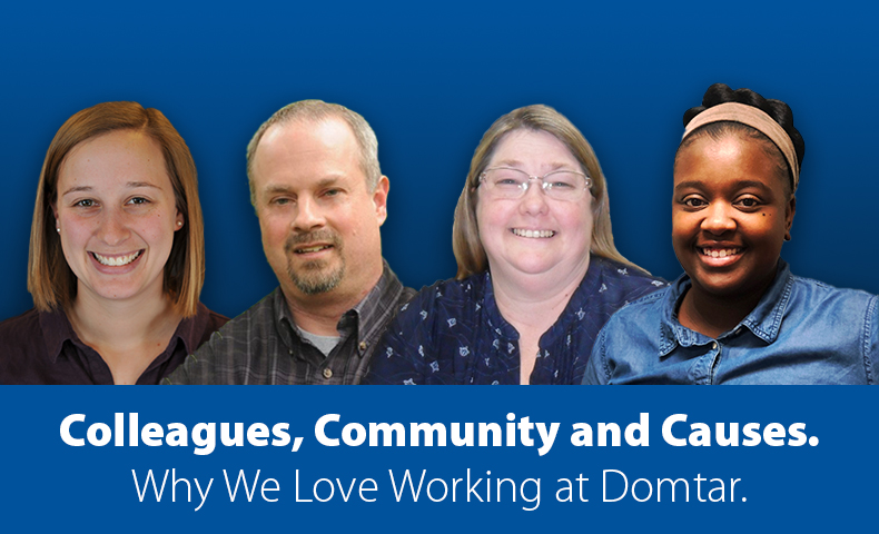 Working at Domtar