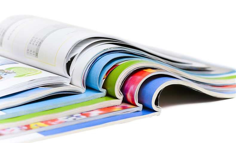 Printed catalogs are an example of the power of print.