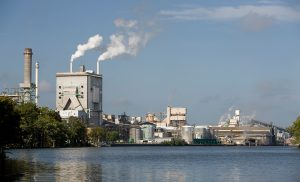 Domtar Plymouth mill resource conservation project