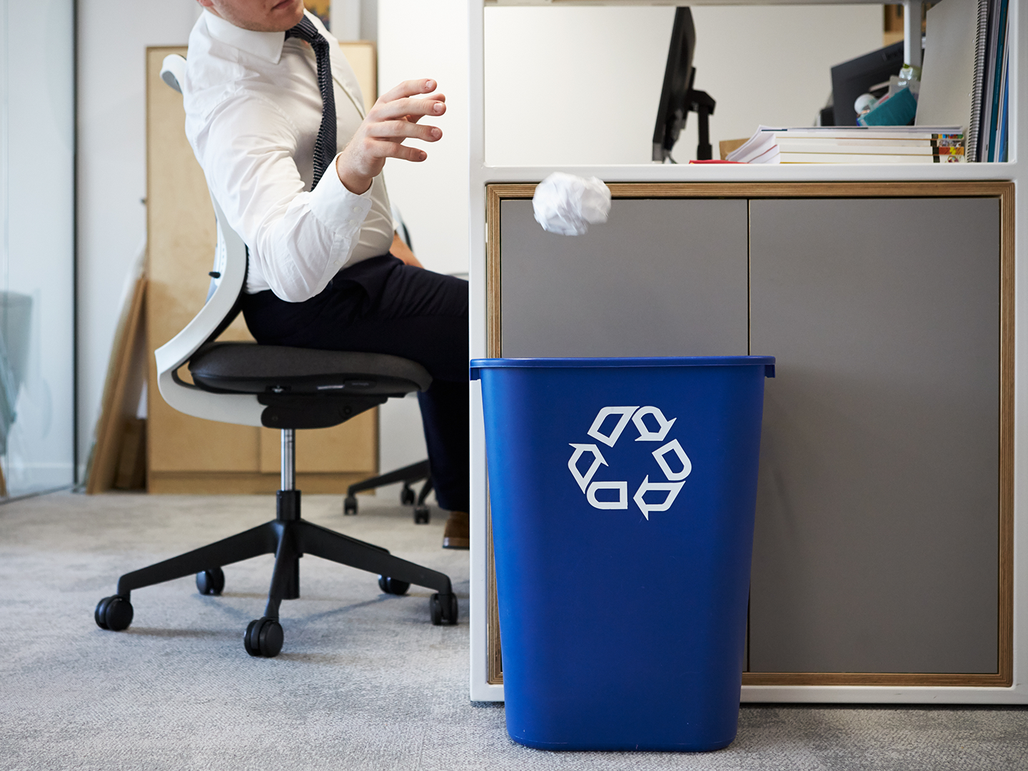 paper recycling rates are high