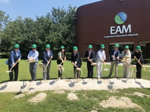 EAM groundbreaking positions Domtar as a leading nonwovens provider