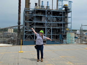 lessons learned during engineering internships at Domtar